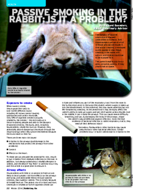 RO Winter 14 – Passive Smoking in the Rabbit